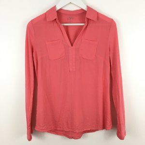 3/$22 Ann Taylor LOFT Long Sleeve Blouse